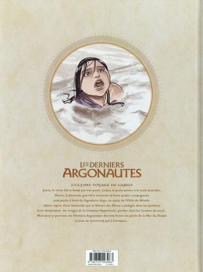 Dos Les derniers argonautes tome 2 - La Mer du destin