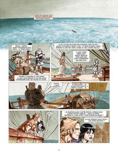Page 1 Les derniers argonautes tome 2 - La Mer du destin