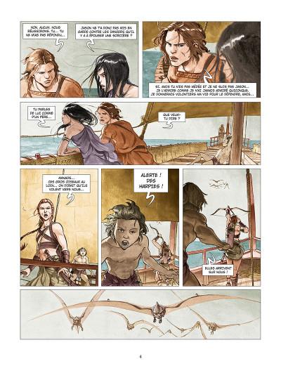 Page 2 Les derniers argonautes tome 2 - La Mer du destin