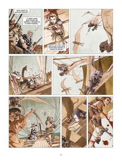 Page 3 Les derniers argonautes tome 2 - La Mer du destin