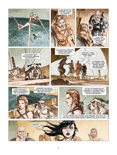 Page 4 Les derniers argonautes tome 2 - La Mer du destin