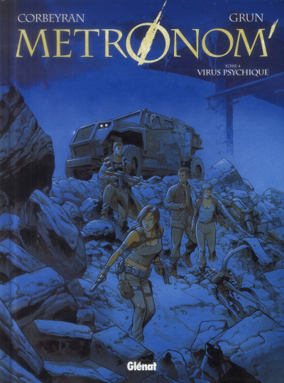 Couverture Metronom' tome 4