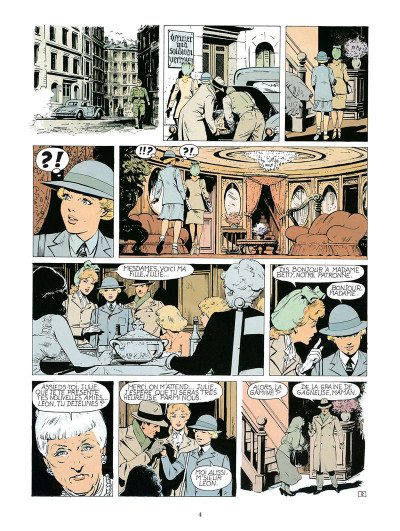 Page 2 Dodo, chronique d'une maison close - intégrale