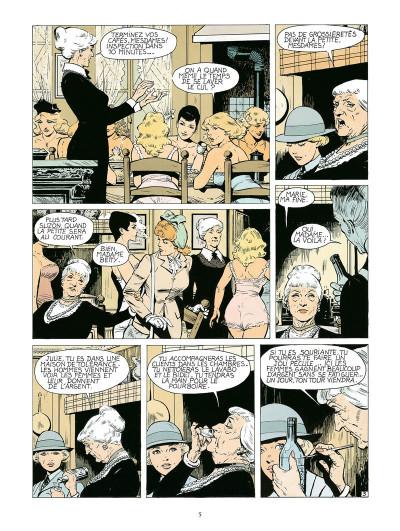 Page 3 Dodo, chronique d'une maison close - intégrale
