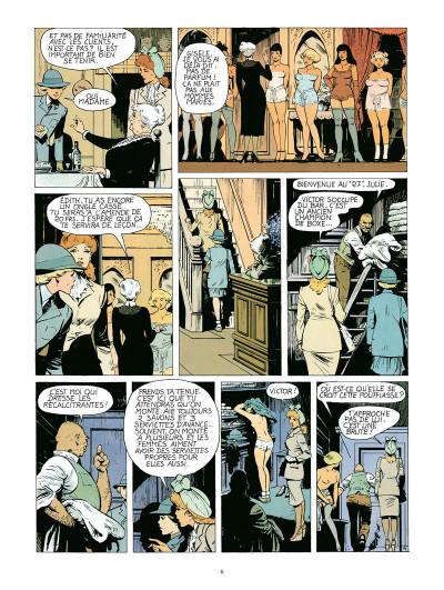 Page 4 Dodo, chronique d'une maison close - intégrale