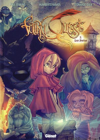 Couverture Fairy quest tome 2 - Les parias