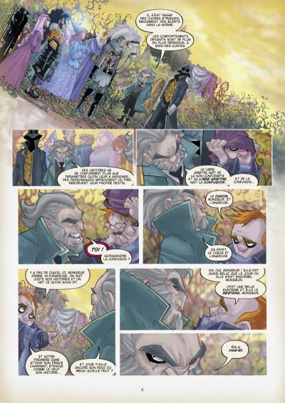Page 3 Fairy quest tome 2 - Les parias