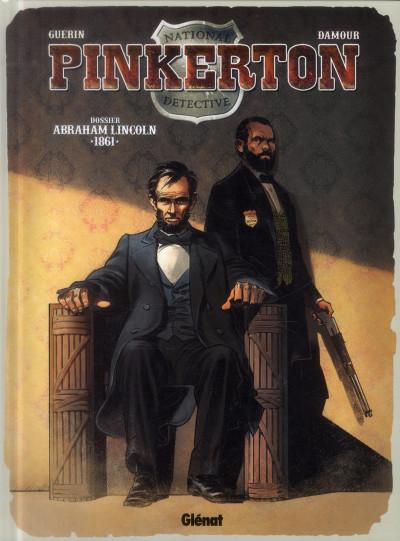 image de Pinkerton tome 2 - Dossier Lincoln - 1861