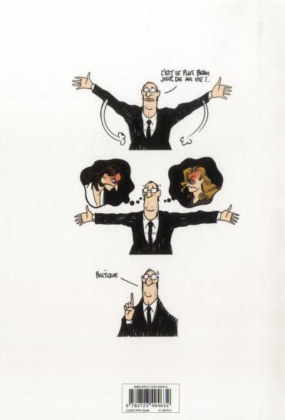 Dos Hollande et ses 2 femmes