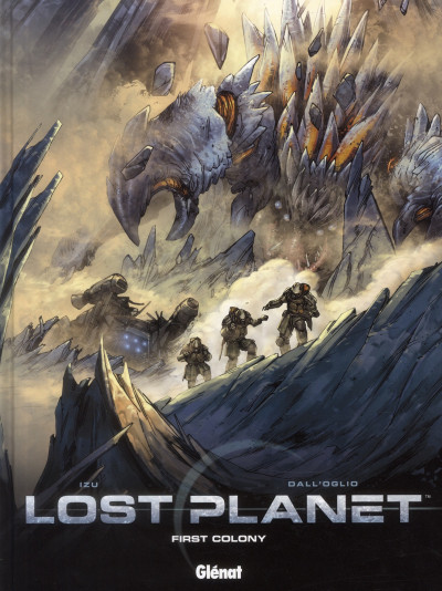 Couverture lost planet tome 1