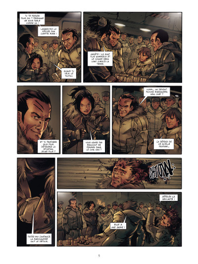 Page 3 lost planet tome 1