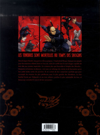 Dos l'ombre des shinobis tome 1