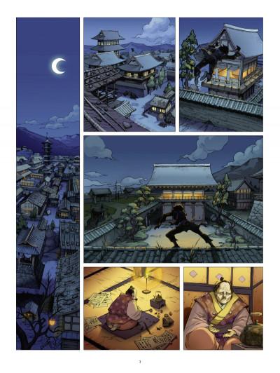Page 1 l'ombre des shinobis tome 1