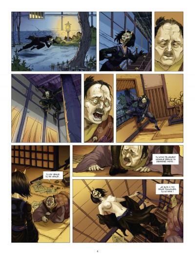 Page 2 l'ombre des shinobis tome 1