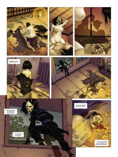 Page 3 l'ombre des shinobis tome 1