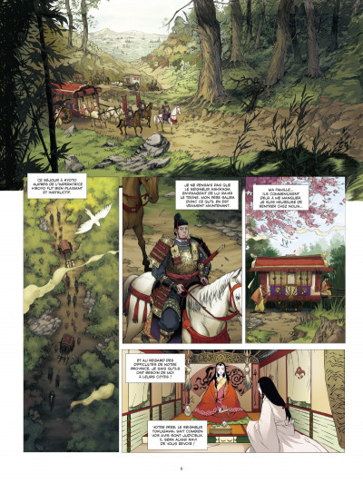 Page 4 l'ombre des shinobis tome 1