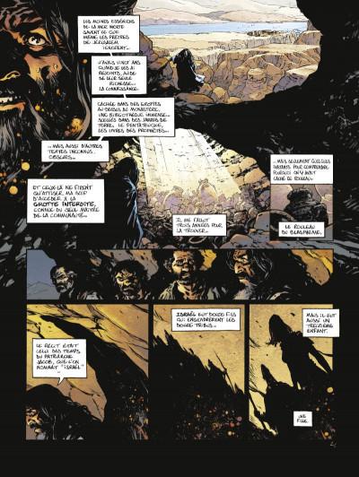 Page 2 Le troisième testament - Julius tome 3