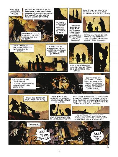 Page 3 Le troisième testament - Julius tome 3