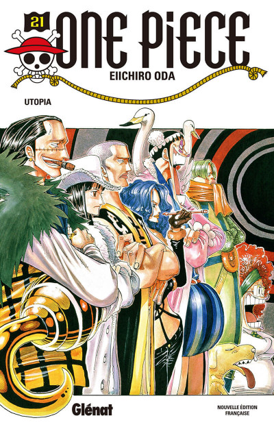 Couverture One piece tome 21 - utopia