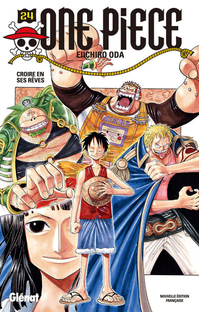 Couverture One piece tome 24 - les rêves