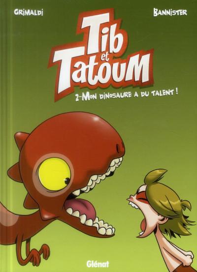 Couverture Tib et Tatoum tome 2