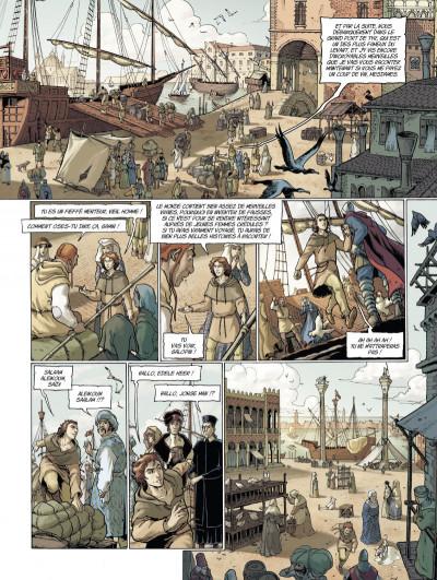 Page 2 Marco Polo tome 1 - le garçon qui vit ses rêves