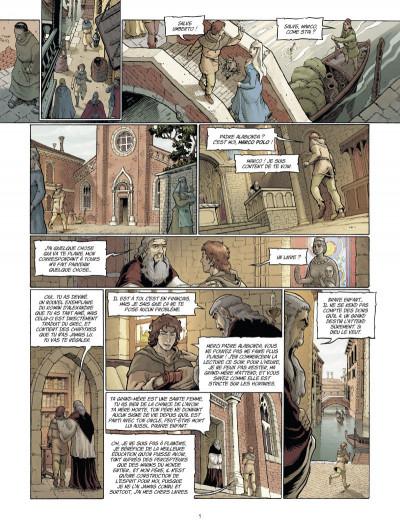 Page 3 Marco Polo tome 1 - le garçon qui vit ses rêves