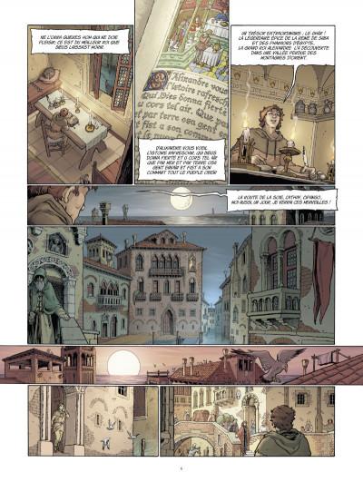 Page 4 Marco Polo tome 1 - le garçon qui vit ses rêves