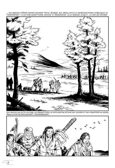 Page 2 l'art préhistorique en bande dessinée T.2 - deuxième époque