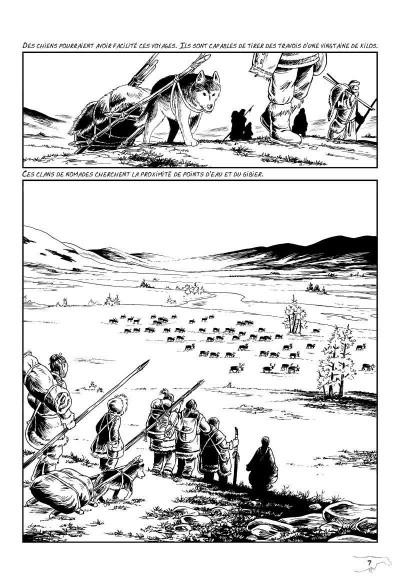 Page 3 l'art préhistorique en bande dessinée T.2 - deuxième époque
