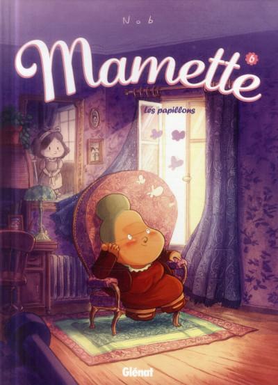 Couverture Mamette tome 6 - les papillons
