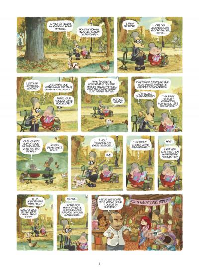 Page 2 Mamette tome 6 - les papillons