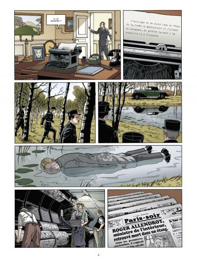 Page 2 Les mystères de la troisième République tome 2 - le tueur dévot