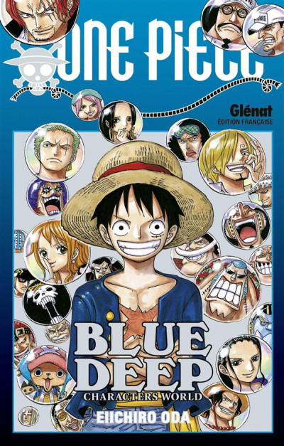 image de one piece - blue deep