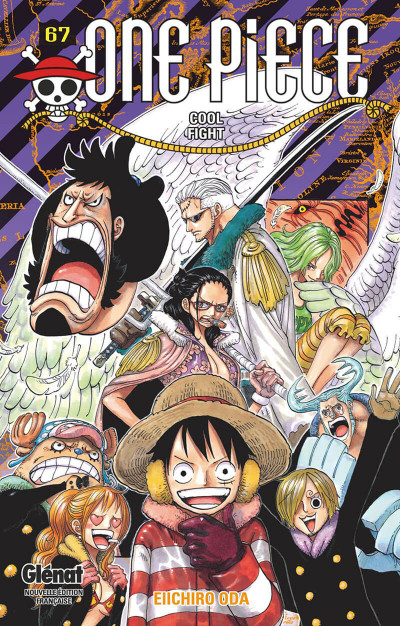 Couverture One piece tome 67