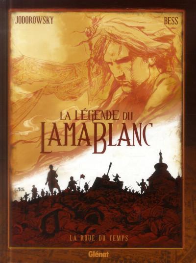 Couverture la légende du lama blanc tome 1 - La roue du temps