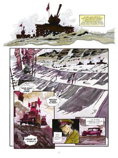 Page 1 la légende du lama blanc tome 1 - La roue du temps