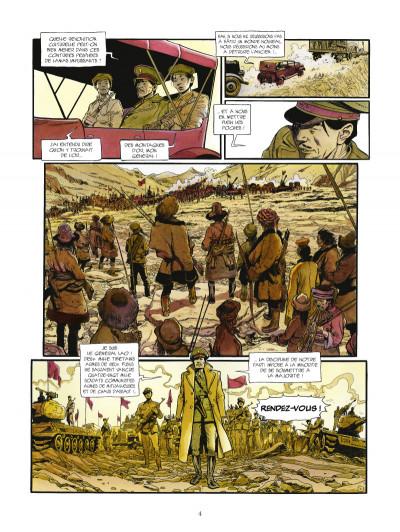 Page 2 la légende du lama blanc tome 1 - La roue du temps