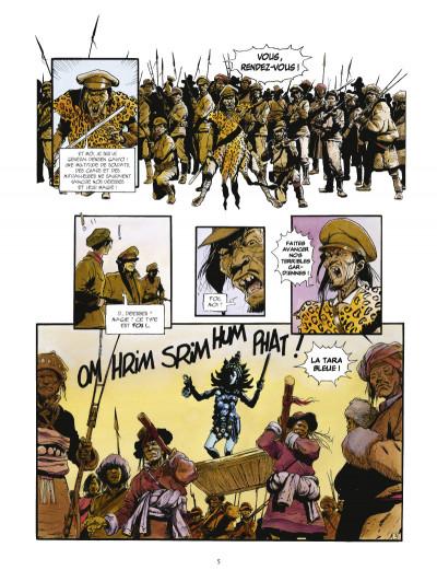 Page 3 la légende du lama blanc tome 1 - La roue du temps