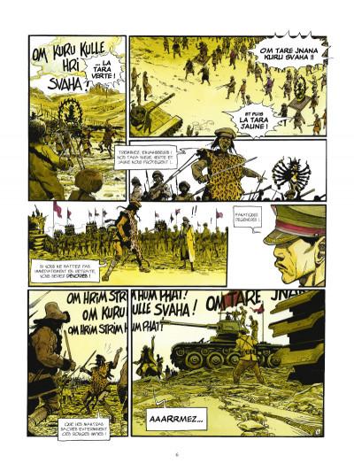 Page 4 la légende du lama blanc tome 1 - La roue du temps