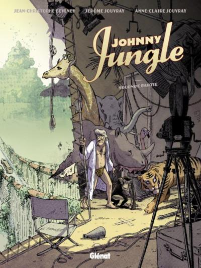 Couverture johnny jungle tome 2