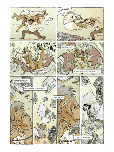 Page 3 johnny jungle tome 2