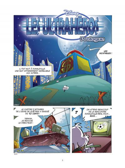 Page 1 les ultrahéros - saison 1 tome 1
