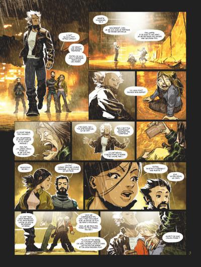 Page 3 Exodus Manhattan tome 1 + ex-libris offert