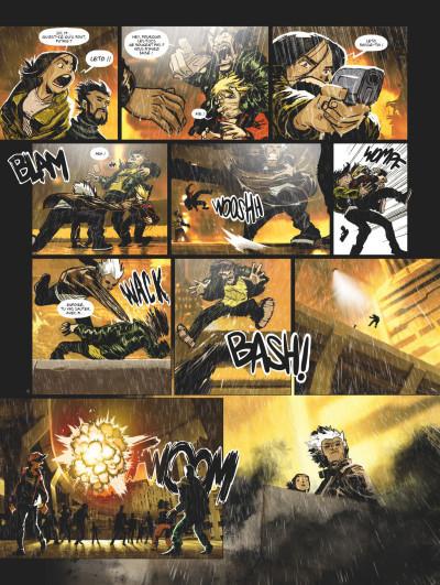 Page 4 Exodus Manhattan tome 1 + ex-libris offert