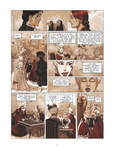 Page 3 La guerre des Sambre - Werner et Charlotte tome 1