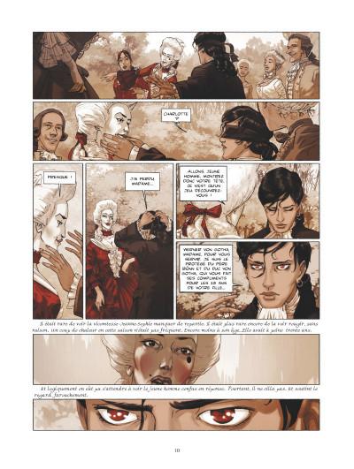 Page 4 La guerre des Sambre - Werner et Charlotte tome 1