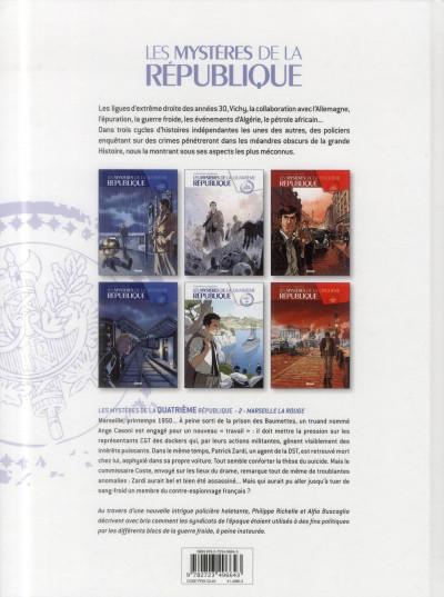 Dos Les mystères de la 4ème République - tome 2