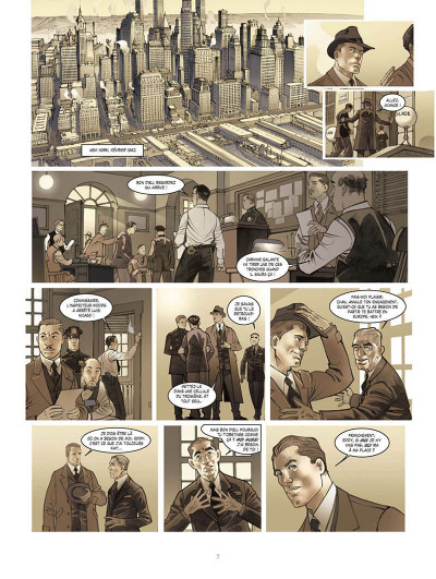 Page 0 opération Overlord tome 1 - Sainte-Mer-l'Eglise