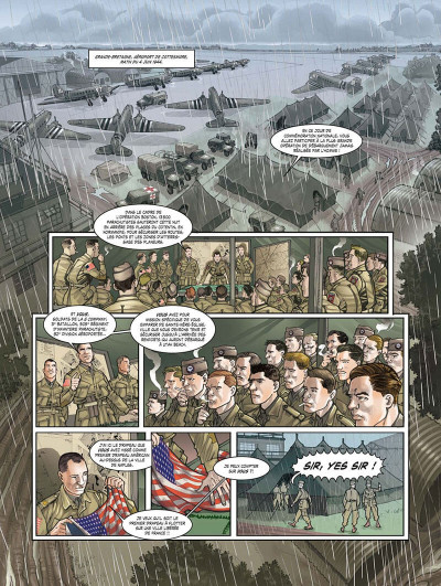 Page 6 opération Overlord tome 1 - Sainte-Mer-l'Eglise